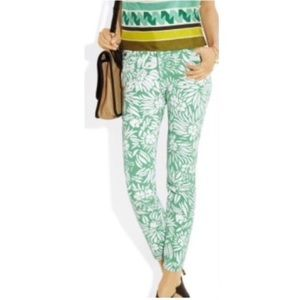 DVF for Current Elliot The Skinny Jeans Mint 26-0